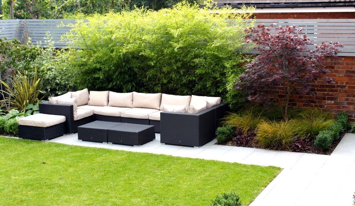 Grundkonzept der Loungemöbel - extrem bequem ausgestattet und stylisch präsentiert