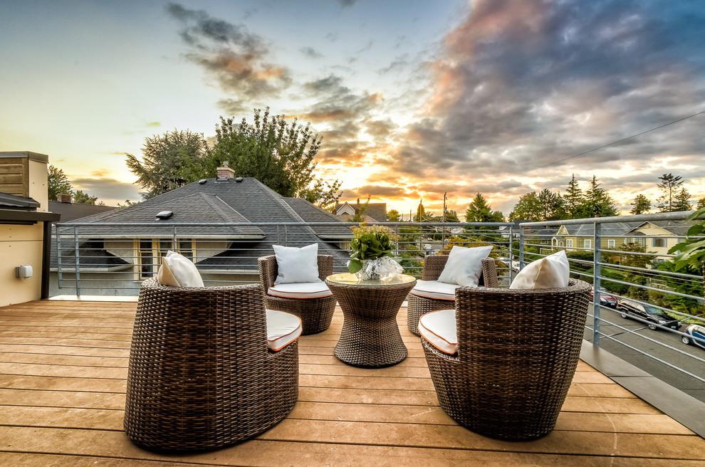 Ergänzen Sie den magischen Zauber Ihrer Dachterrasse mit unseren Ideen für moderne Gartengestaltung