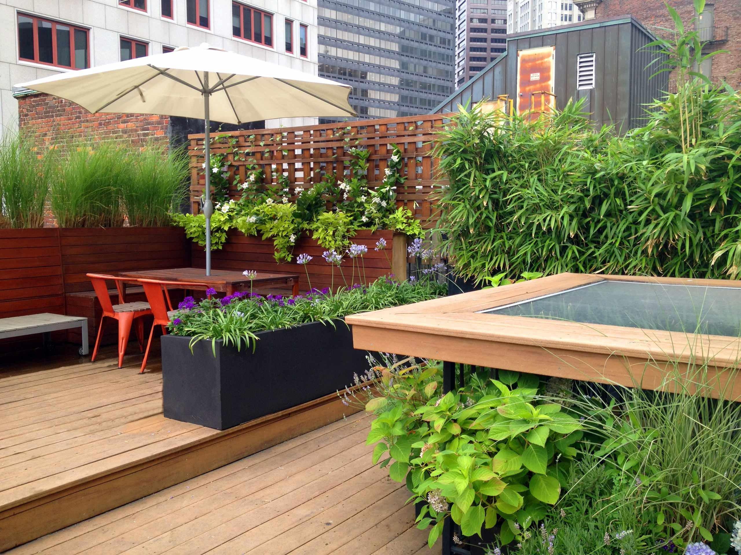 Moderne Terrassengestaltung für Ihre Dachterrasse