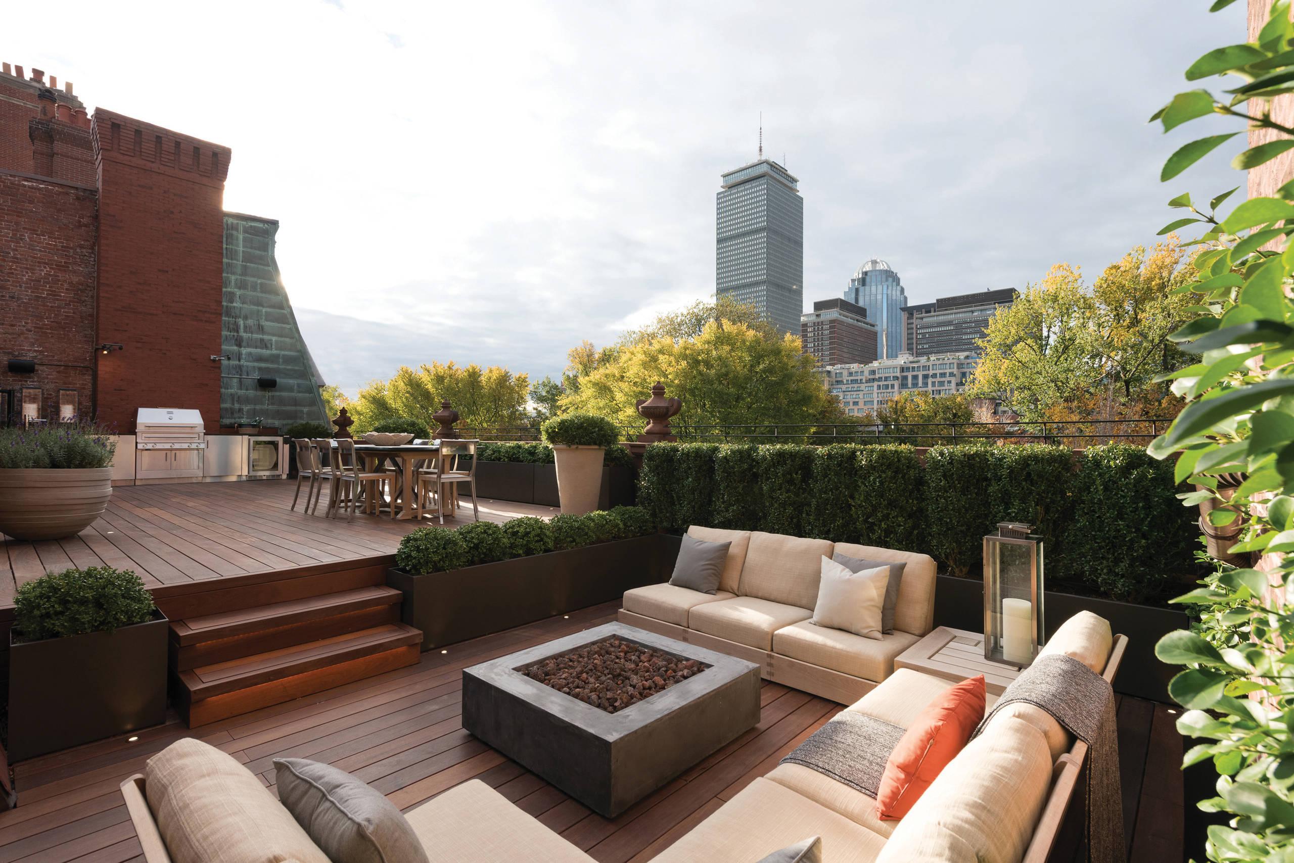 Tolle Tarrassengestaltung Ideen für Ihre Dachterrasse finden Sie hier