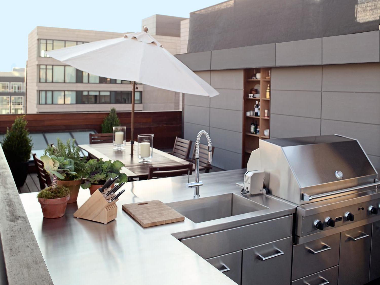 BBQ auf der Terrasse