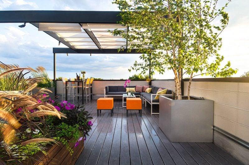 Dach Terrassen Ideen zum Nachmachen