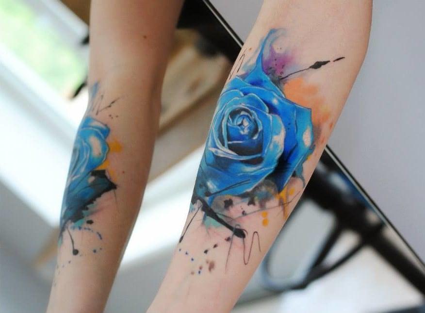 ∗ Blau Rose Bedeutung∗