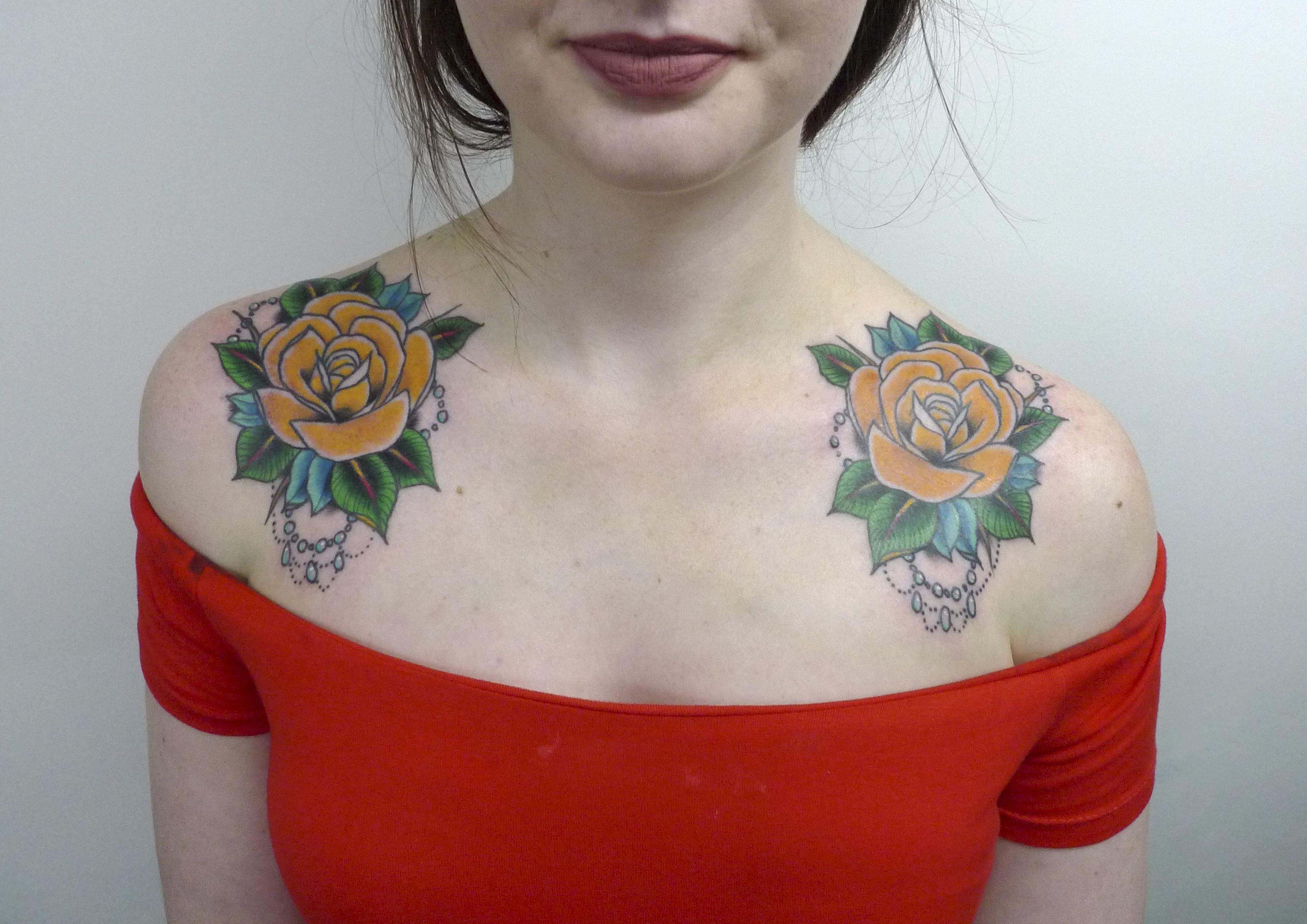 Wissen Sie welche die Bedeutung des gelbe Rose Tattoos?