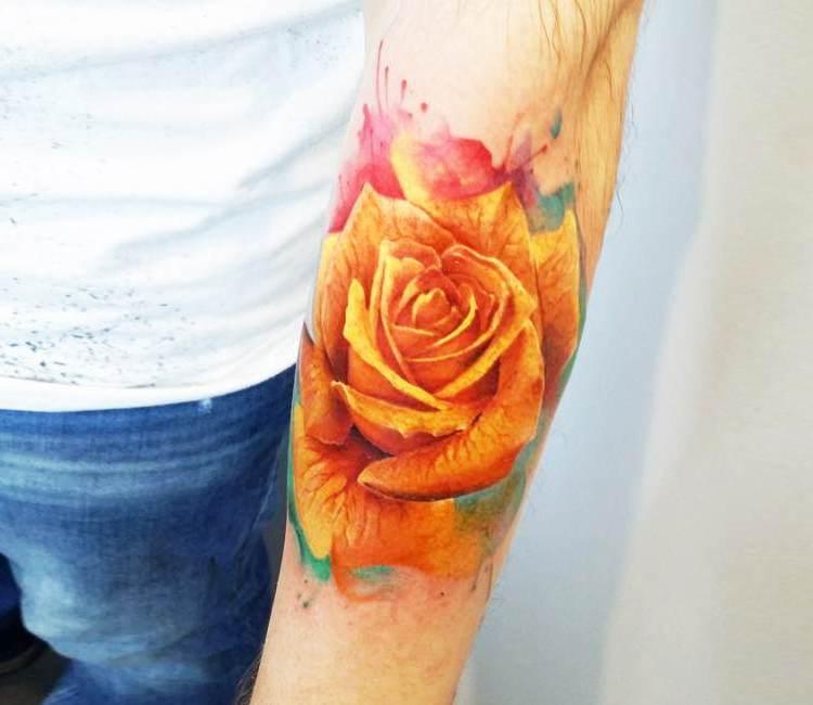 ∗ Orange Rose Bedeutung∗