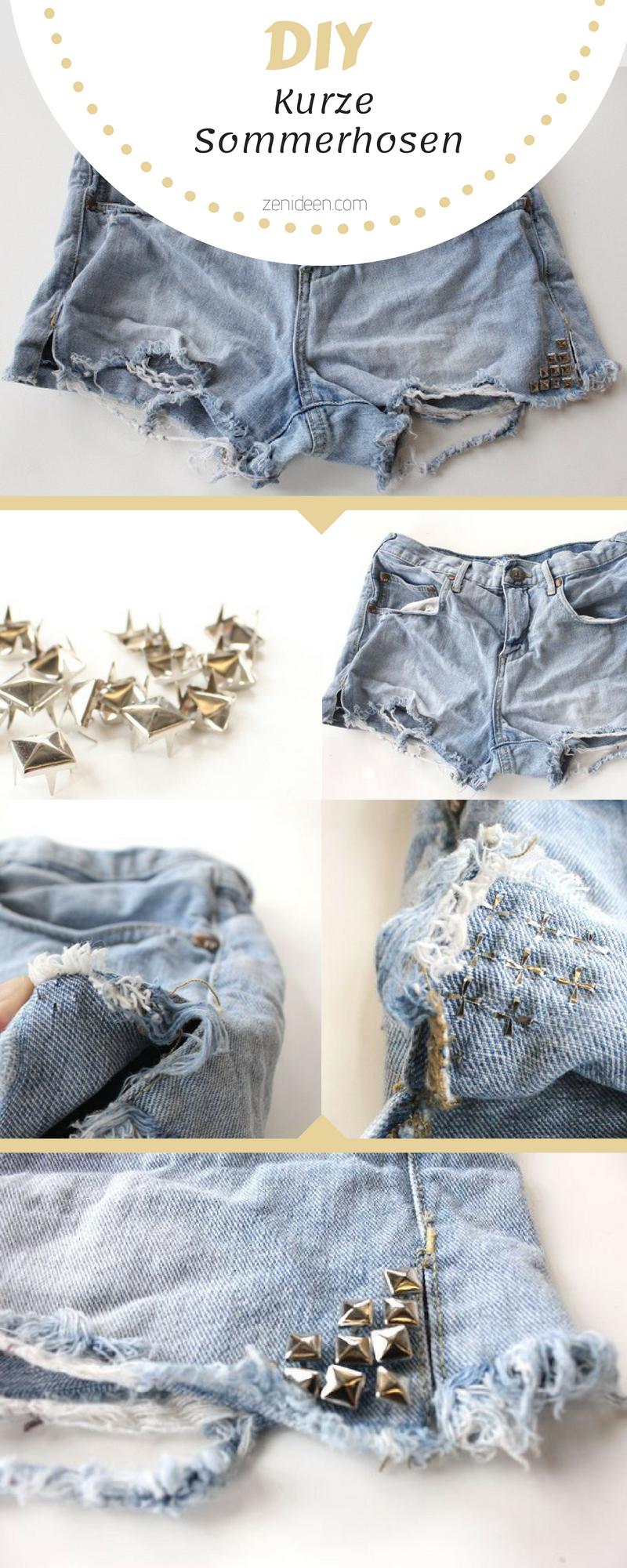Ihre alte Strandhose Damen neu gestalten - Finden Sie hier tolle Anleitungen