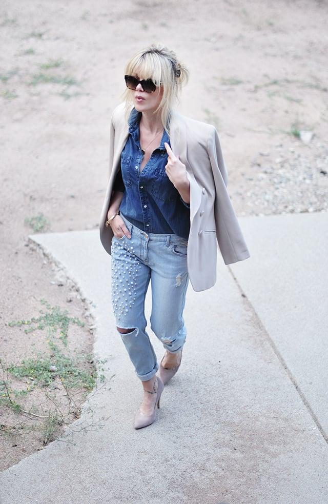 Gekauft oder selbst gemacht - Lernen Sie hier, wie Ihre alte Sommerhose aus Baumwolle einen neuen Look zu verleihen