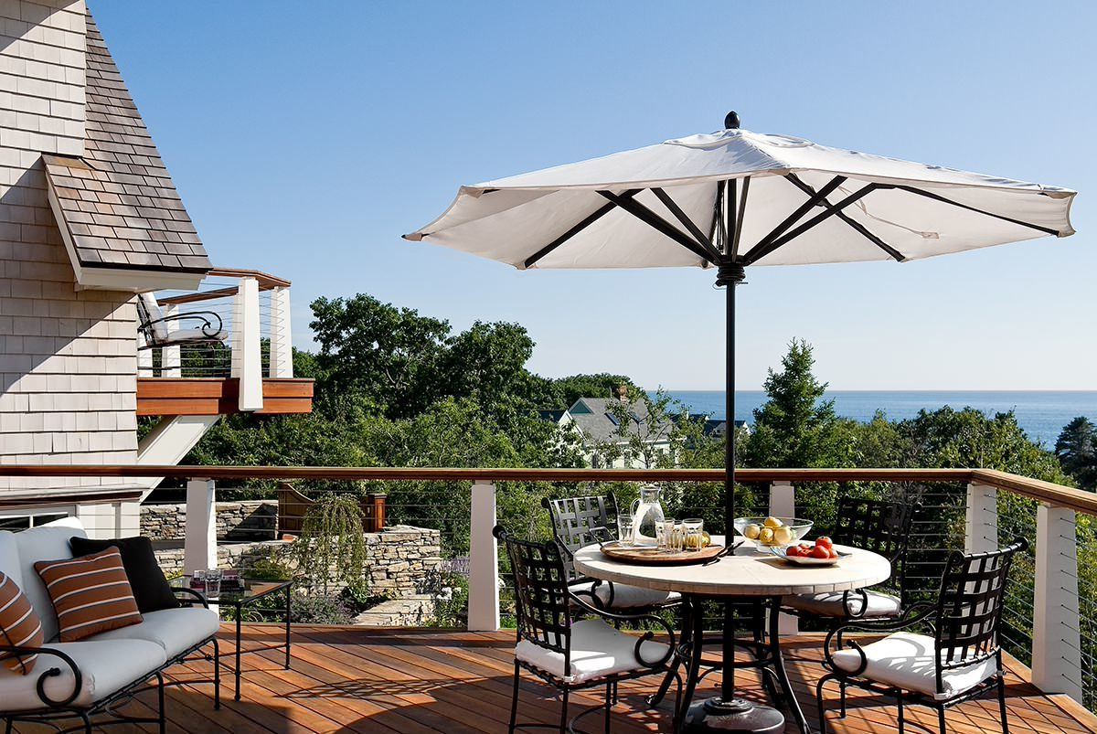 Welche Sonnenschirm rechteckig oder achteckig, ist zu Ihrem Balkon passend