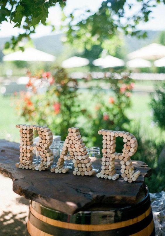 Hochzeitsdeko selber machen - kreative Upcycling Ideen zum Selbermachen