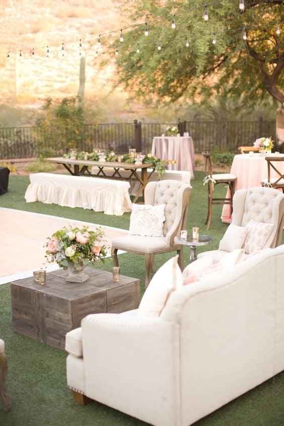 Upcycling Ideen für eine Hochzeitsparty
