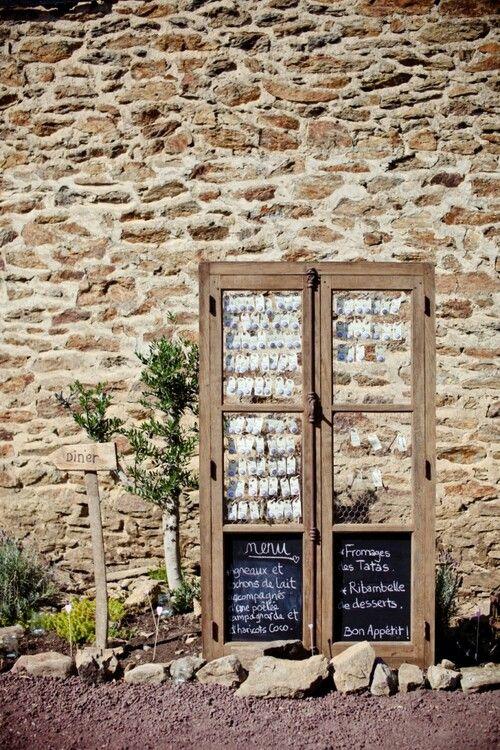 Vintage Ideen für Hochzeit - Upcycling Ideen mit Türen