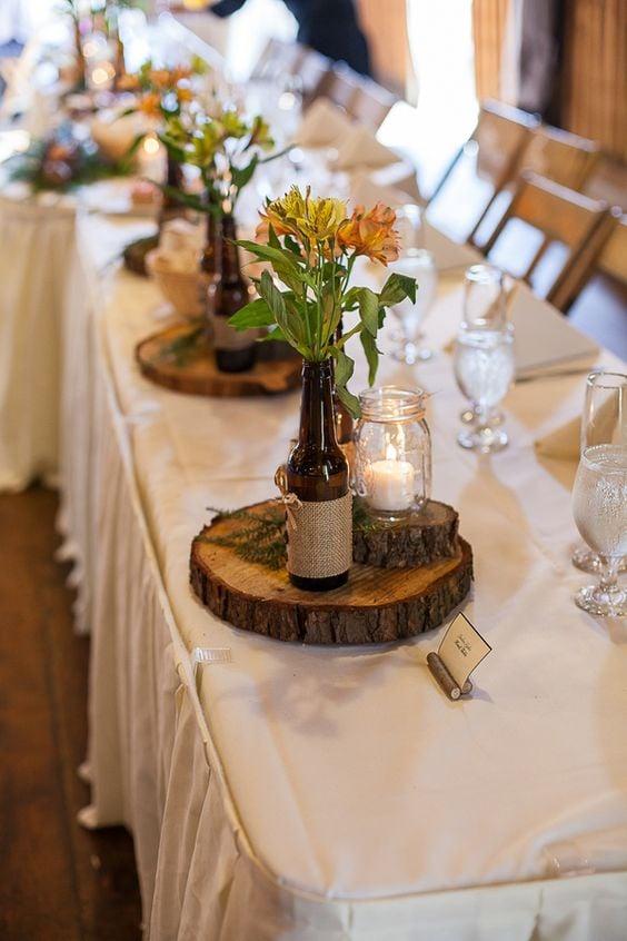 Kreative Ideen für Rustik Hochzeit mit Upcycling