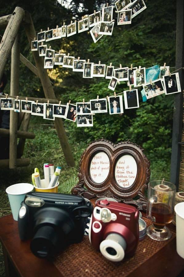 Mit Upcycling Materialien ein Foto Booth gestalten