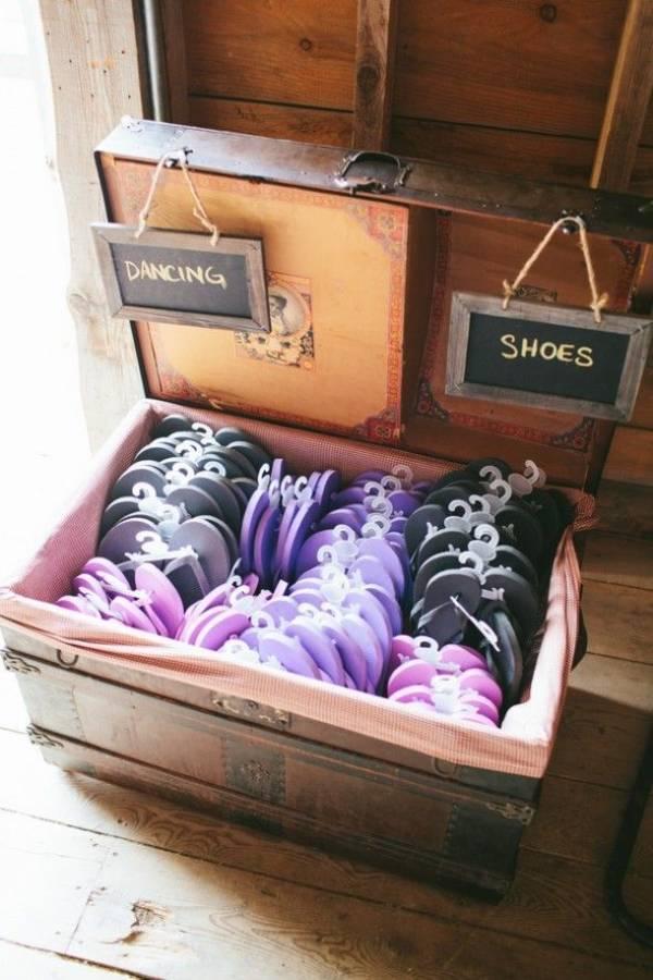 Upcycling Ideen mit altem Box für die Hochzeit