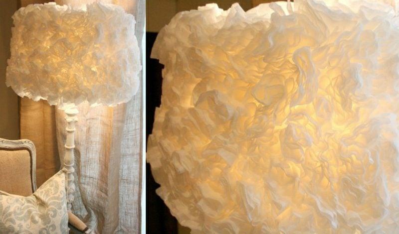 Lampenschirm selber machen Stehlampe