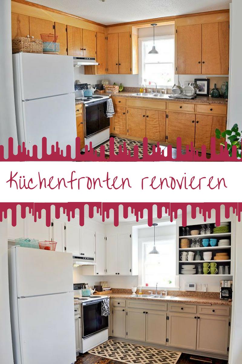 Küchenfronten austauschen: Vorher und Nachher