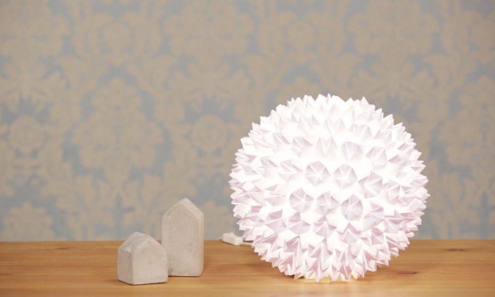 Lampenschirm selber machen originelle Dekoideen