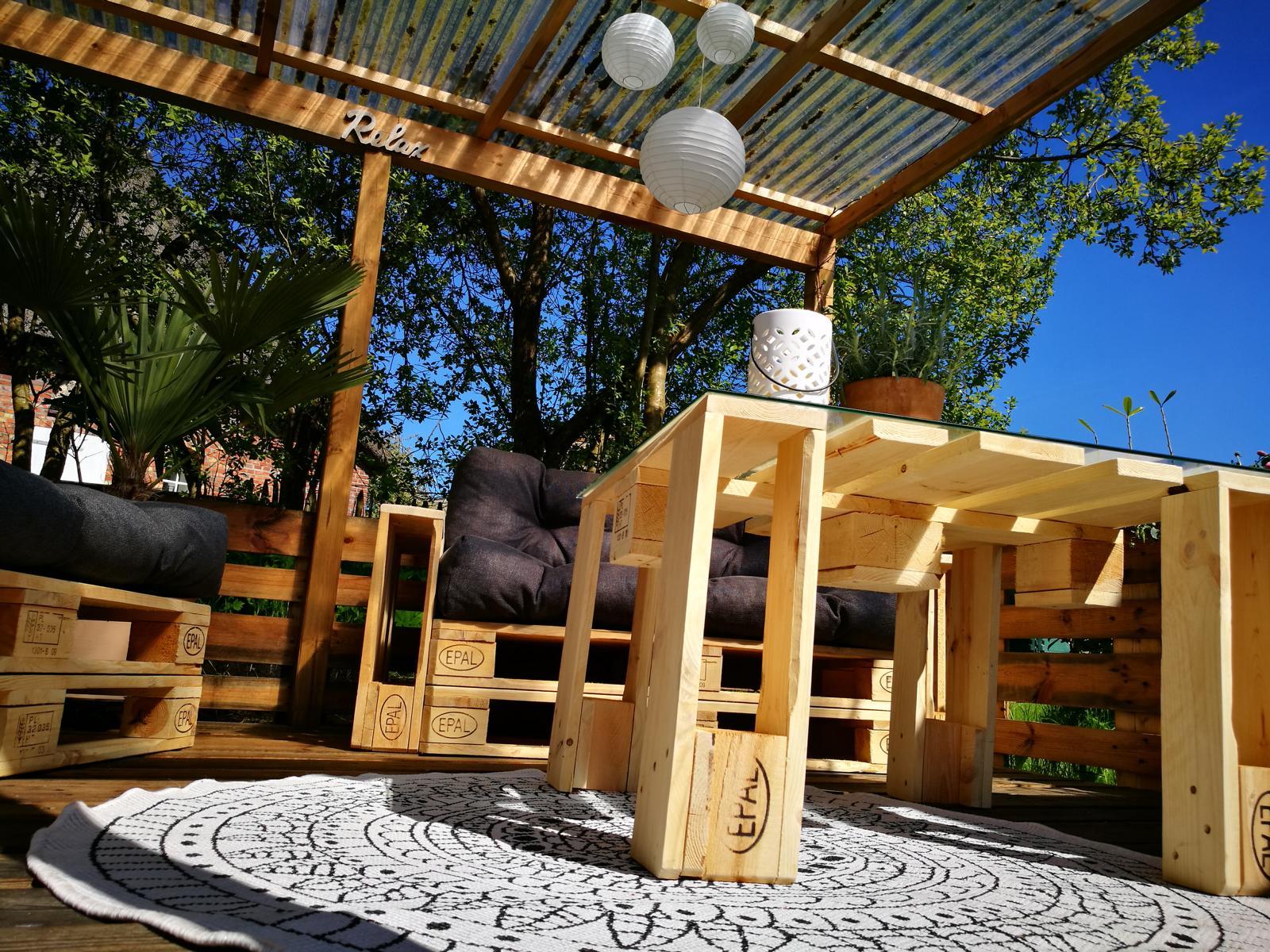 DIY Gartenmöbel Palettenmöbel