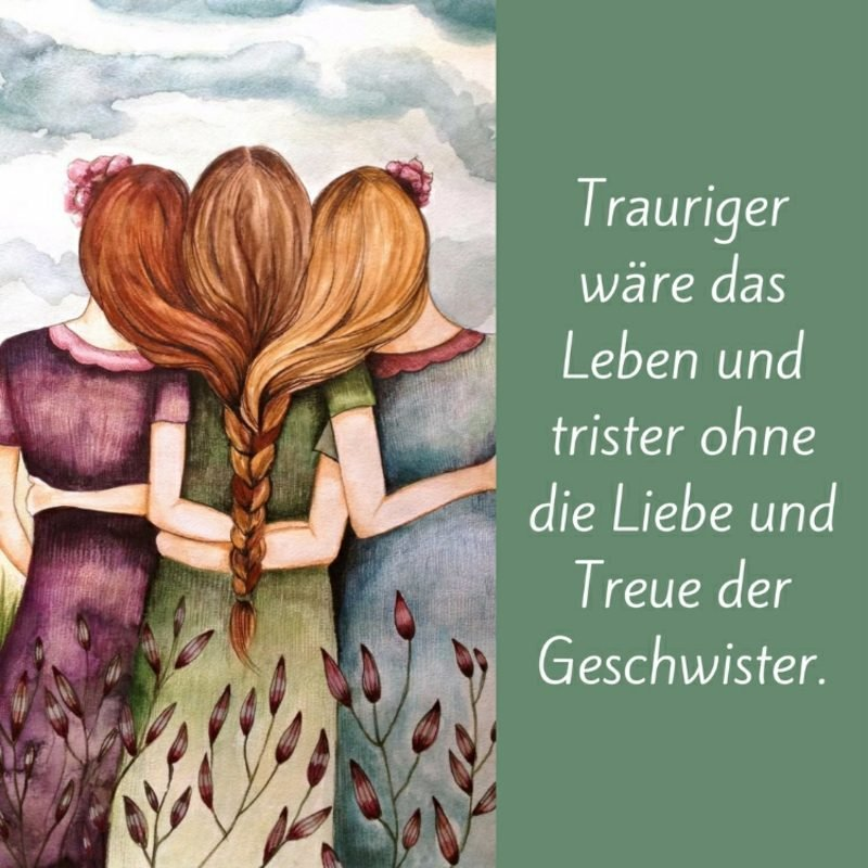 Schwester Sprüche Liebe Treue