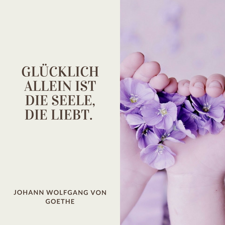 Sprüche Lebensweisheiten Lioebe Zitat Goethe