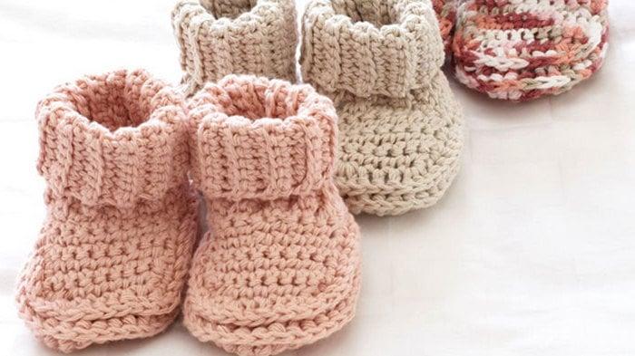 Babyschuhe Häkeln Anleitung Und 23 Reizende Häkelmuster Diy Zenideen