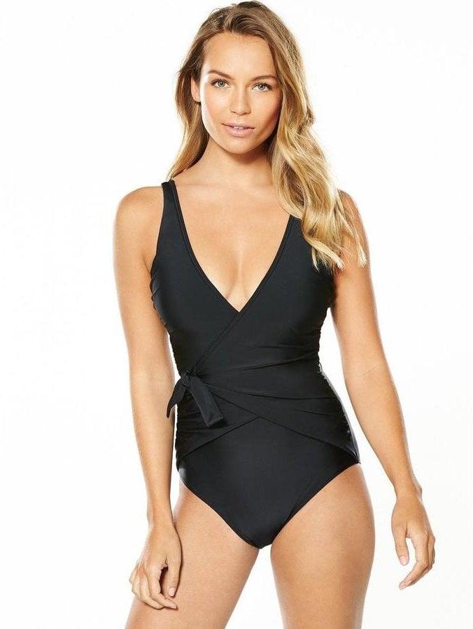 Badeanzug schwarz