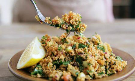 Couscous Salat Jamie Oliver - marokkanischer und griechischer Art