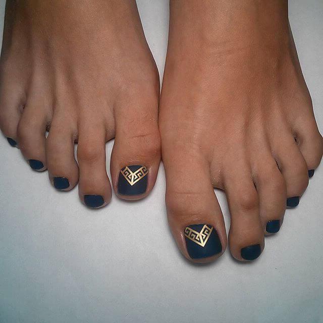 Fußnägel Lackieren: Umwerfende Ideen für ihre sommerliche Pediküre für Party