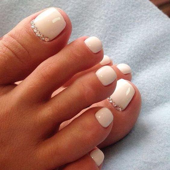 Sommer Designs fürs Fußnägel Lackieren