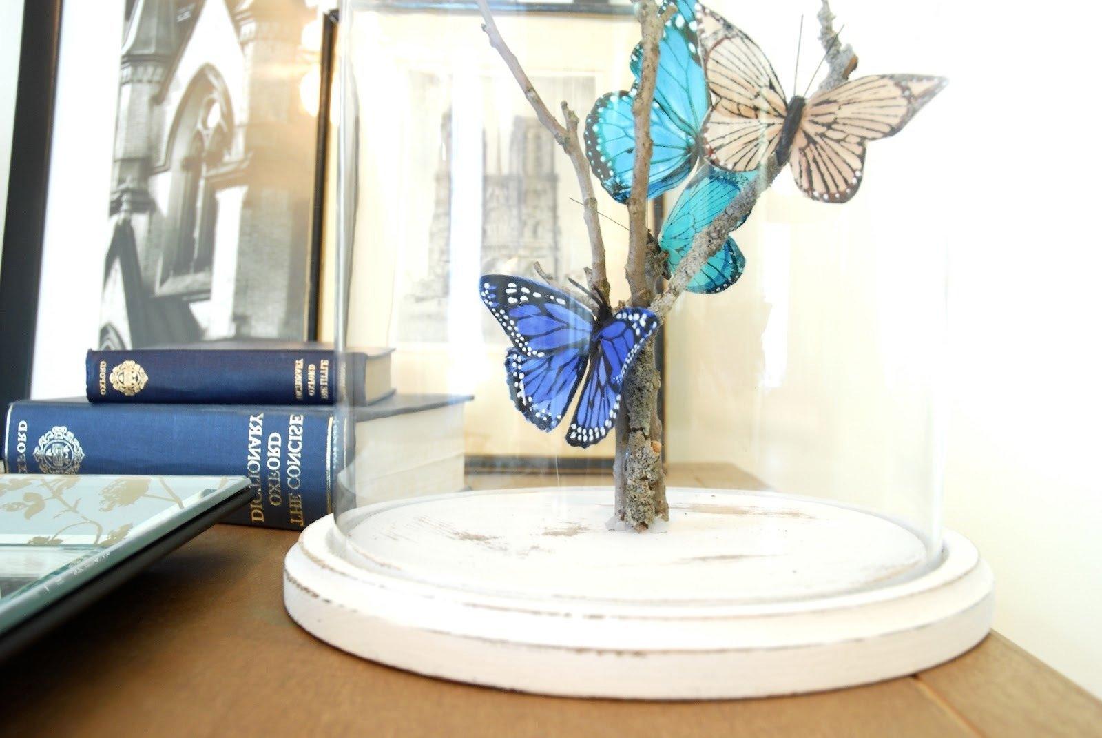 DIY Glaskuppel Deko für Zuhause