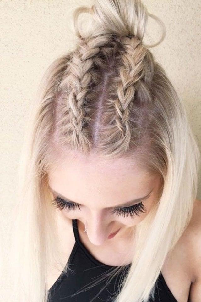 Schulterlange Haare Flechten 15 Kinderleichte Anleitungen Für
