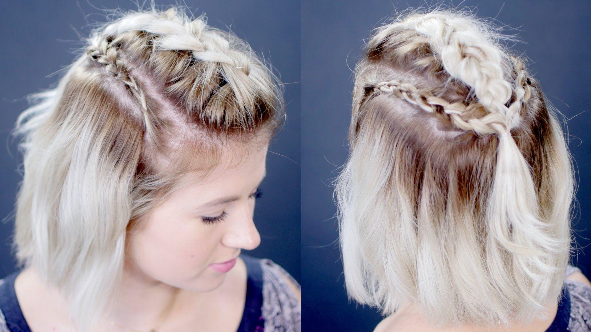 Frisuren halblang