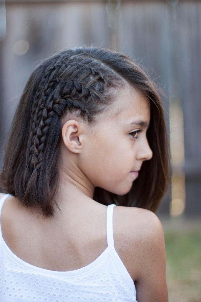 Anleitungen fürs Haare Flechten: Die besten Ideen für Kinder