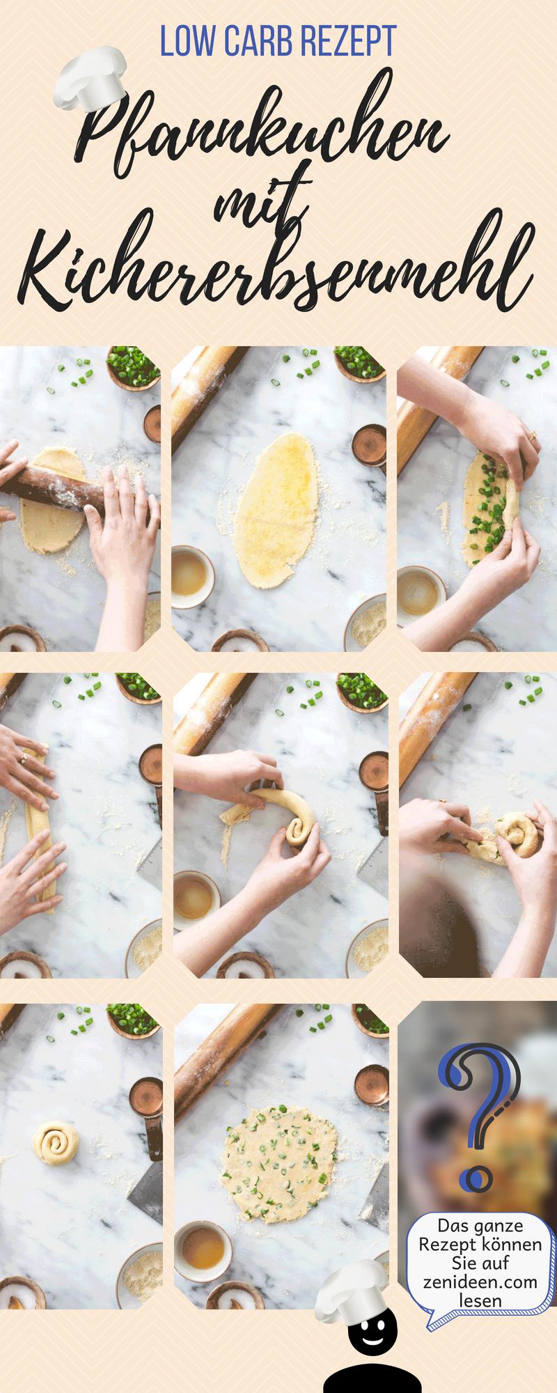 Kichererbsenmehl Rezepte für Veganer