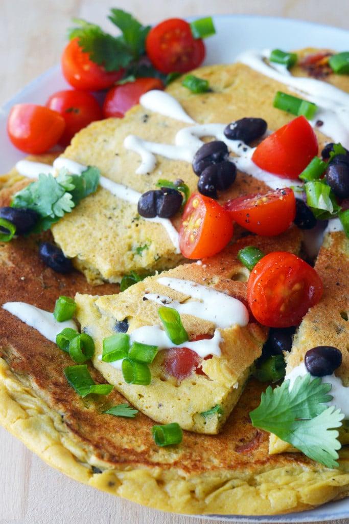 Kichererbsenmehl Rezepte tum Frühstück