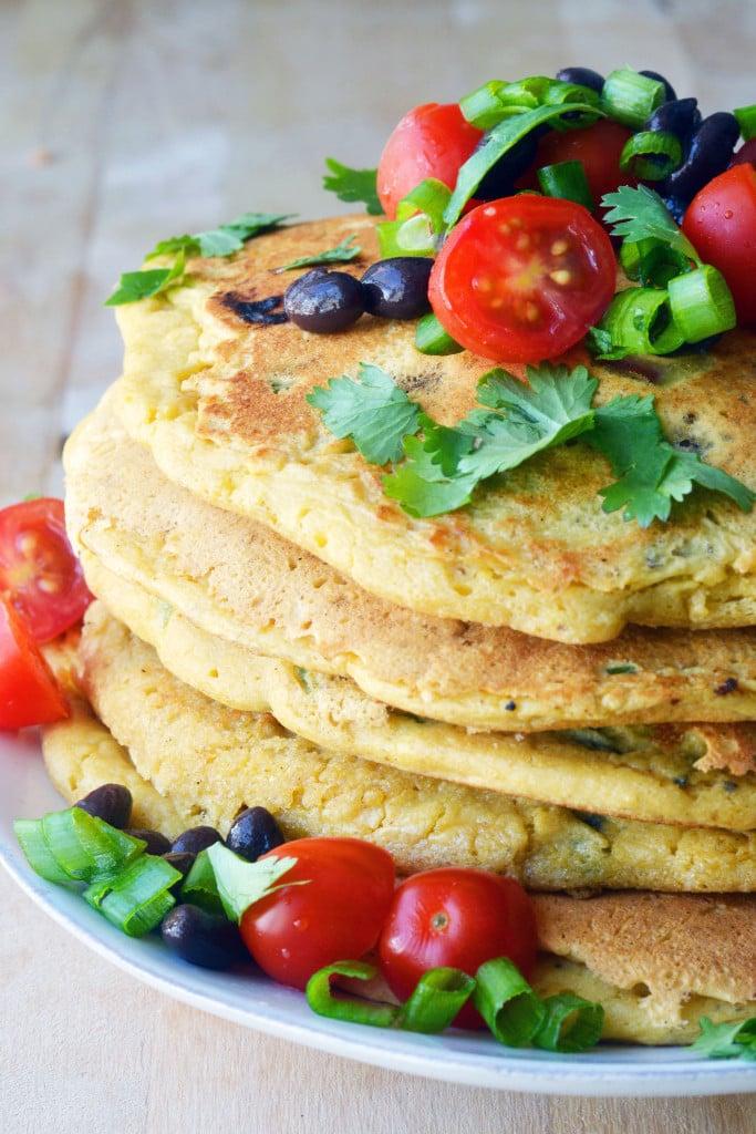 Eierkuchen Low Carb mitKichererbsenmehl