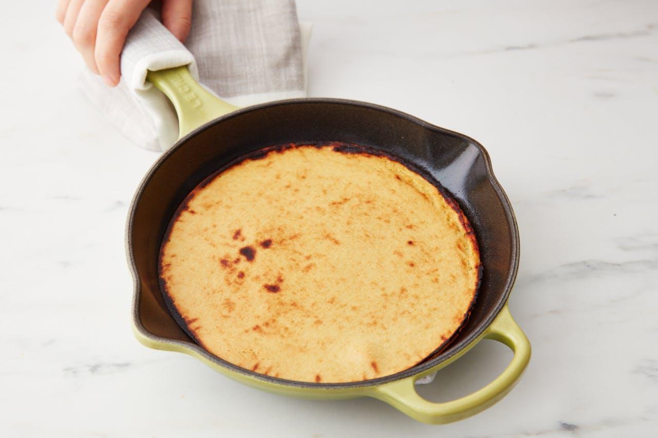 Low Carb Rezepte mit Kichererbsenmehl: Low Carb Pfannkuchen selber machen
