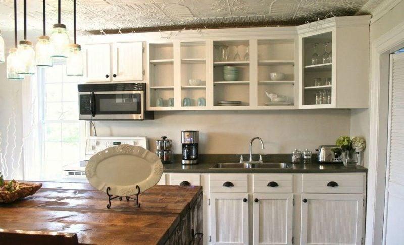 Die Fronten in der Küche streichen: Nachher