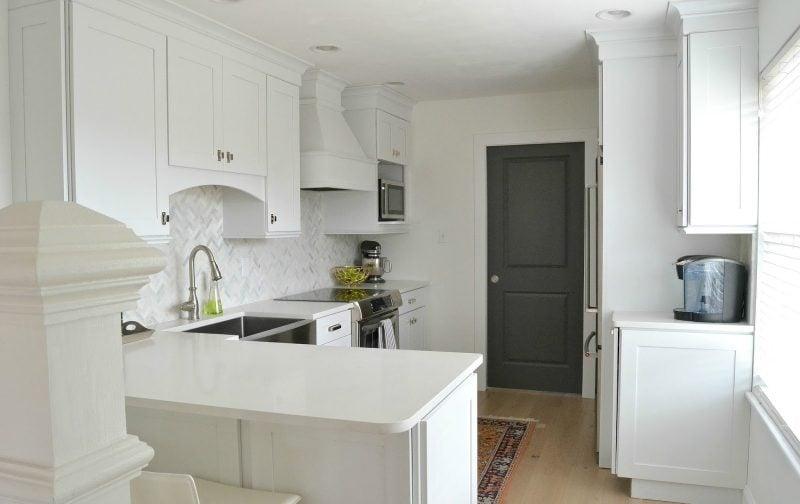 Küchenfronten und Küchenschränke günstig erneuern: Nachher