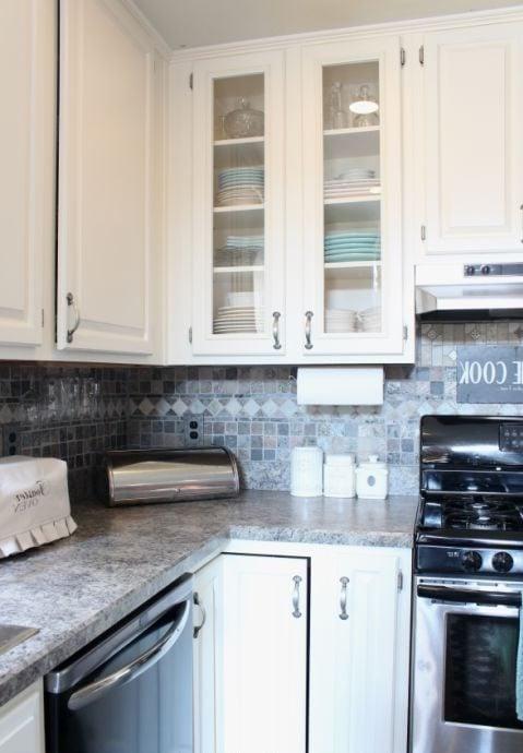 Die Fronten in der Küche renovieren: Nachher