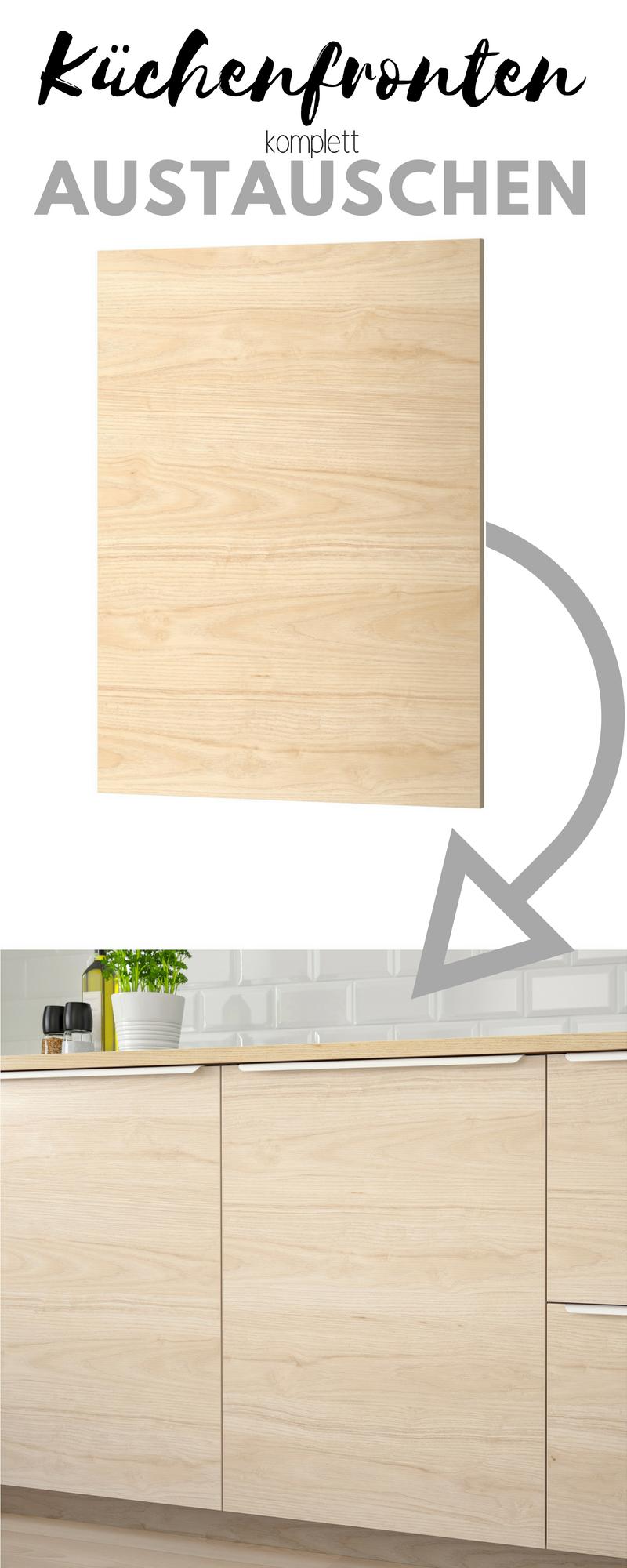 Küchenfronten austauschen: Bestellen Sie neue Fronten direkt aus Internet