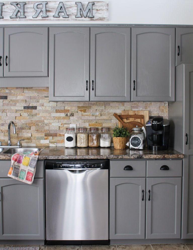 Fronten für die Küche online kaufen und die Küche renovieren: Nachher