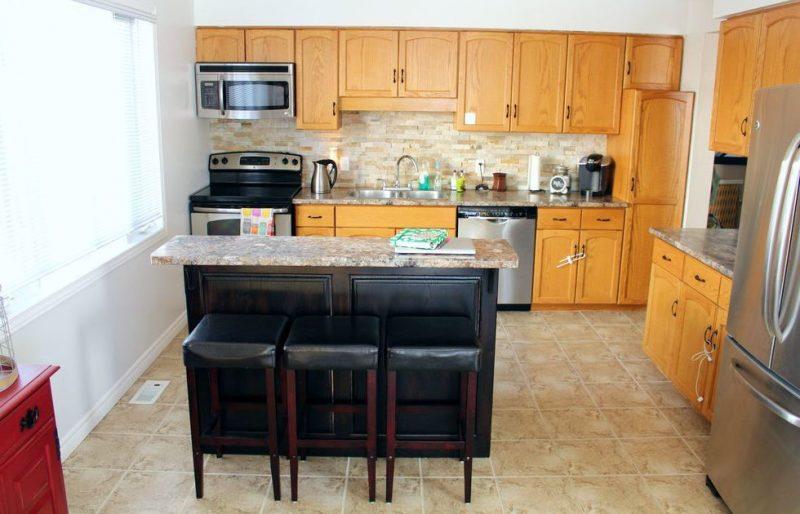 Fronten für die Küche online kaufen und die Küche renovieren: Vorher