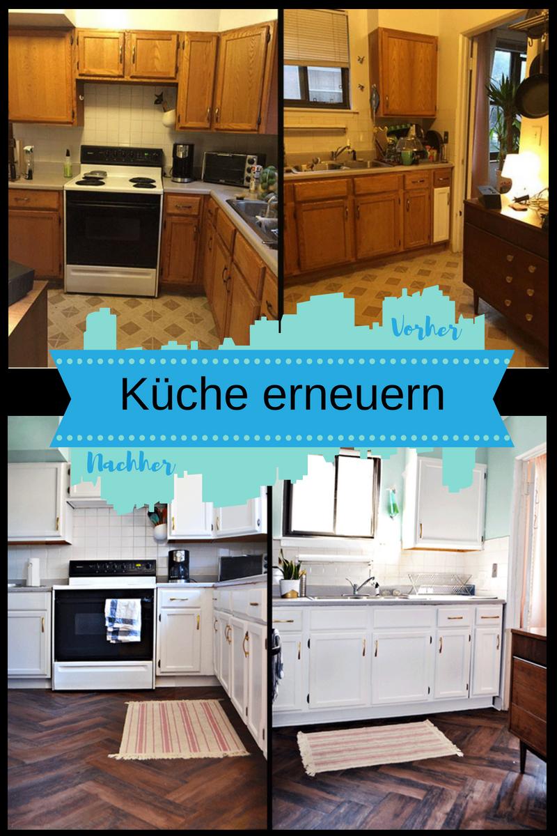 Küchenfronten erneuern: Vorher und Nachher