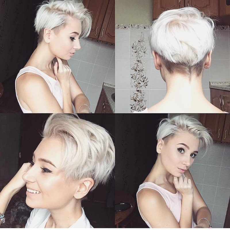 Kurzhaarfrisuren für feines Haar