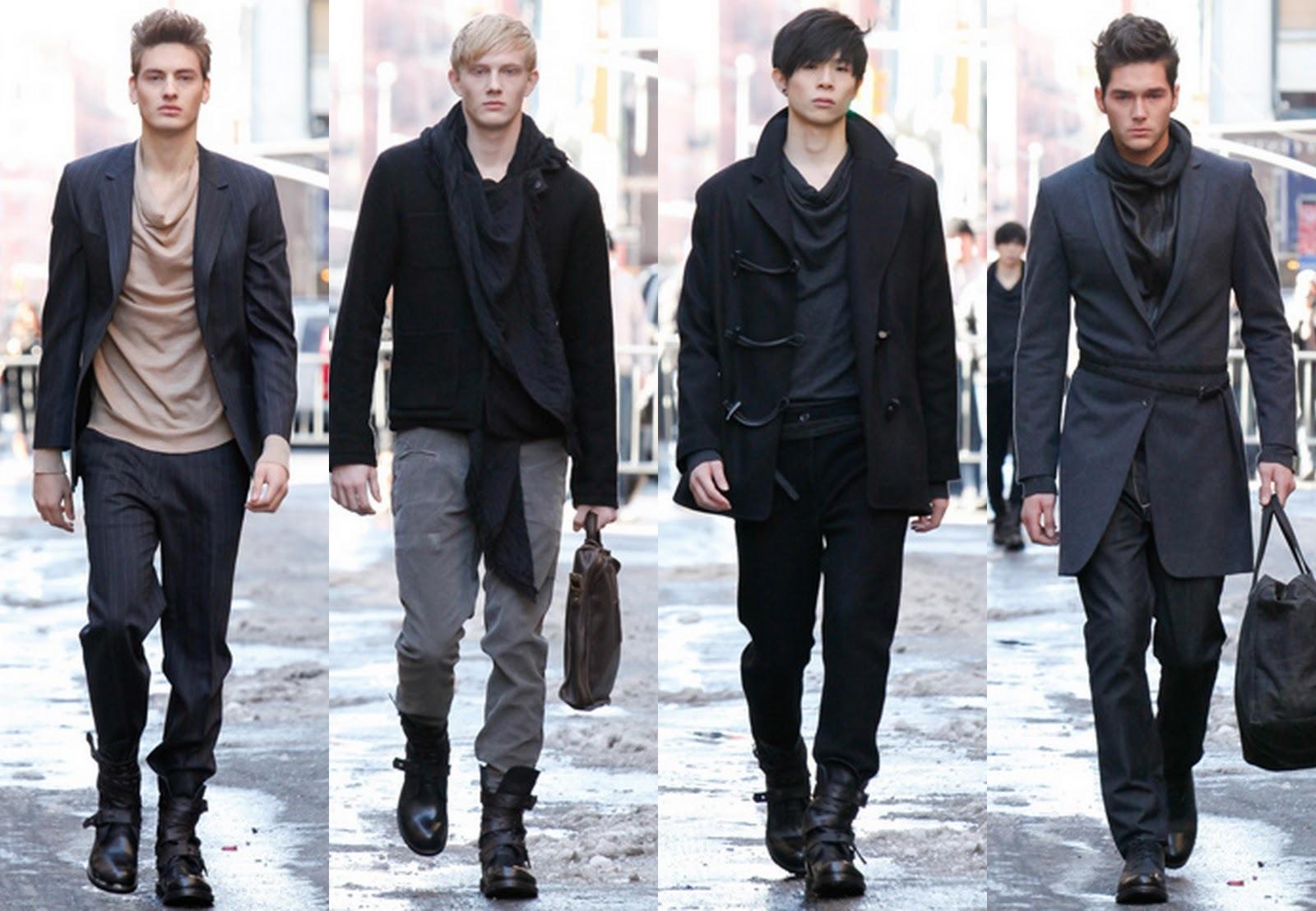 Männermode für den Herbst - Outfits