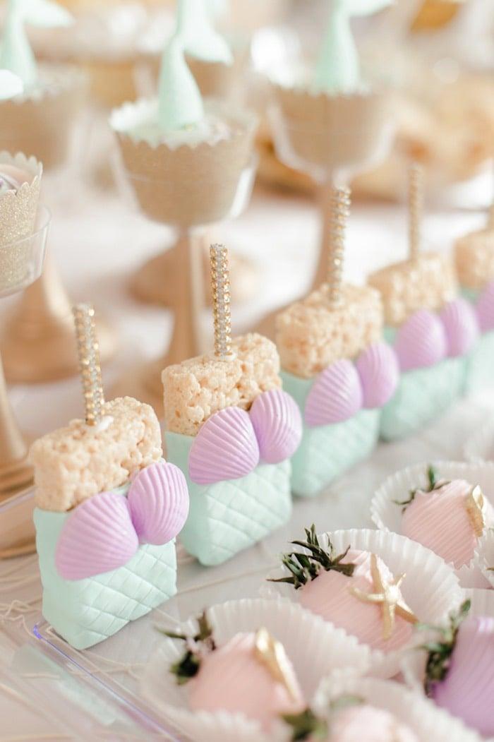 Meerjungfrau Geburtstagsparty Fingerfood