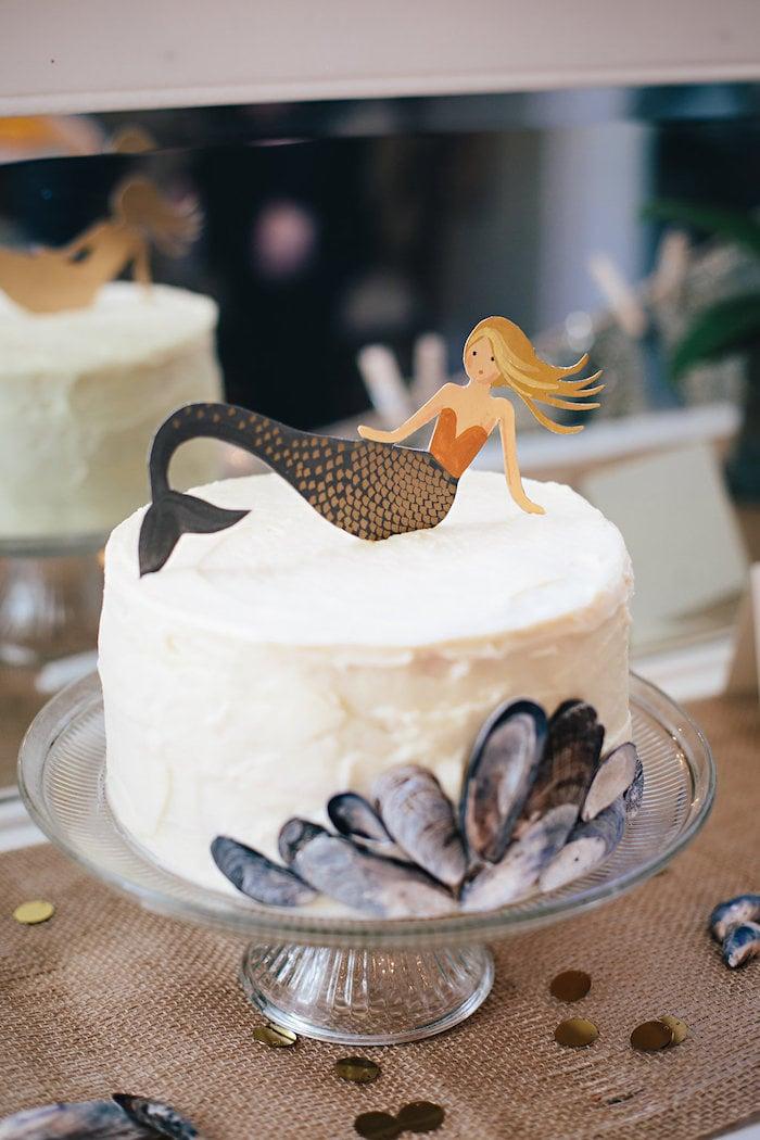 Meerjungfrau Geburtstagstorte selber machen