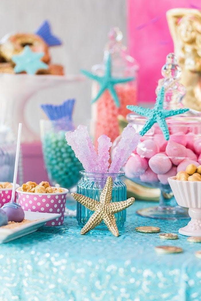 Meerjungfrau Party Artikel Ideen