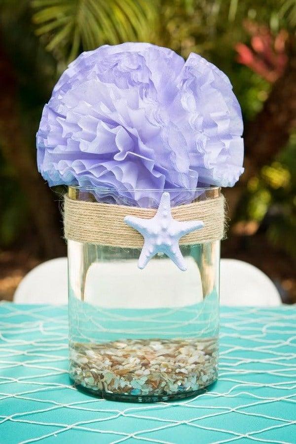 Meerjungfrau Tischdekoration Geburtstag